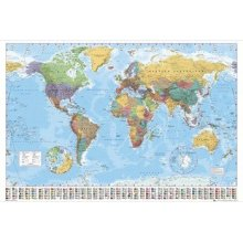 Plakát WORLD MAP 2012