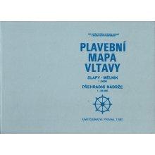 Plavebni Mapa Vltavy Melnik Slapy Melnik Prehradni Nadrze