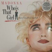 WHO'S THAT GIRL OST (CLEAR VINYL ALBUM)