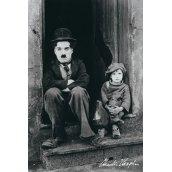 Plakát CHARLIE CHAPLIN - DOORWAY