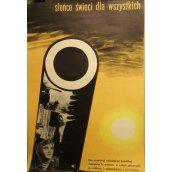 Słońce świeci dla wszystkich filmový plakát