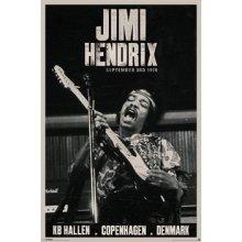Plakát HENDRIX  COPENHAGEN