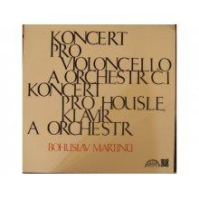 Koncert pro violocello a orchestr, Koncert pro housle, klavír a orchestr