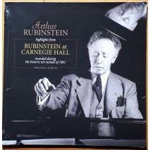 Highlights From Rubenstein At Carnegie Hall (Original)