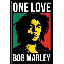 Plakát 33 Bob Marley - One love