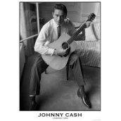 Plakát JOHNNY CASH - LONDON 1959