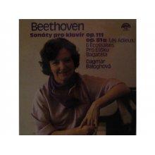 Ludwig van Beethoven - Sonáty pro klavír op. 111, op. 81a /Les Adieux/, 6 Ecossaises pro Elišku Bagatela