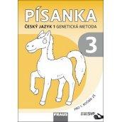 Písanka 1/3 Český jazyk 1 Genetická metoda