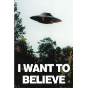 Plakát X-FILES - I WANT TO BELLEVE