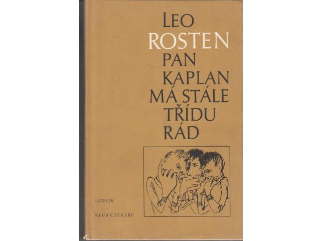 Kniha Pan Kaplan má stále třídu rád (Leo Rosten)