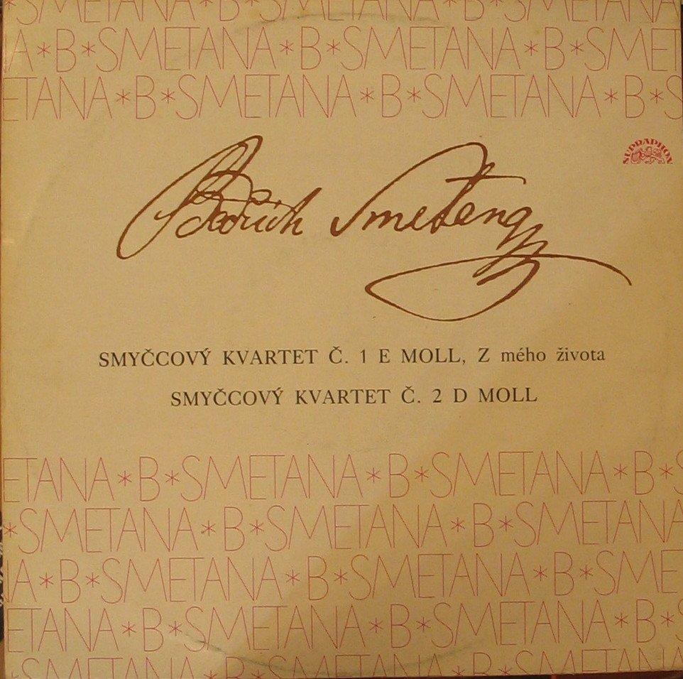 Bedřich Smetana Smyčcov½ Kvartet č 1 E Moll Z Mého života č 2